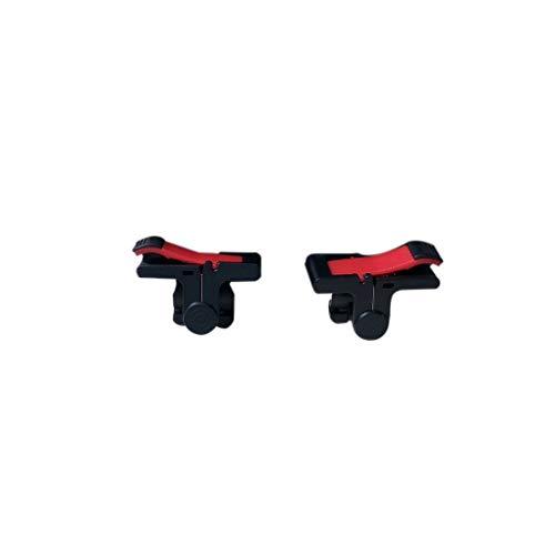 wufeng D9 ABS PC Negro Juegos móviles Disparo de gatillo botón de la manija de Agarre Controladores de Doble Teléfono Gamepad