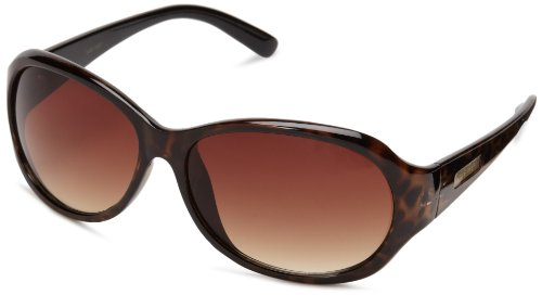 Nine West Women's S04688rnj201 Oval Sunglasses,Tort,124 mm