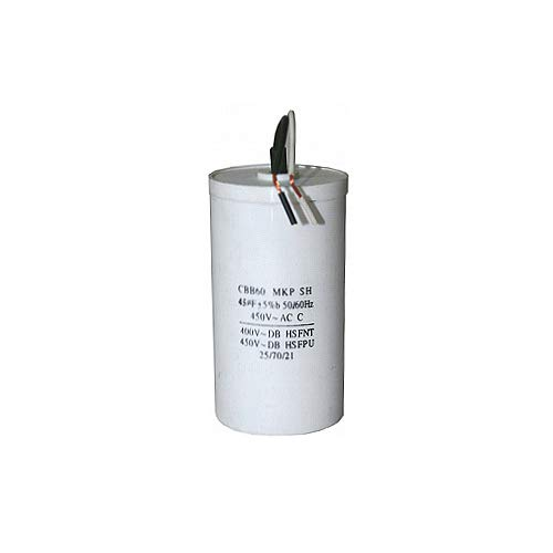 LESCHA ATIKA Ersatzteil | Kondensator 45µF für Holzspalter ASP 5,5 / ASP 6-1050 / ASP 6N / SPL 6 / SPL 6 TP