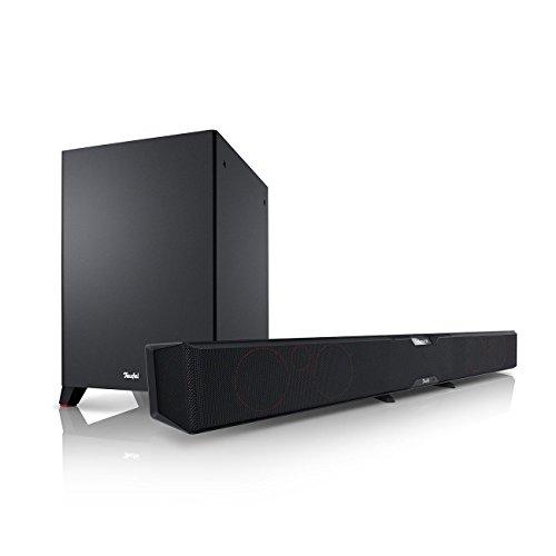 Teufel Cinebar Pro Schwarz Soundbar Bluetooth HDMI Heimkino Subwoofer