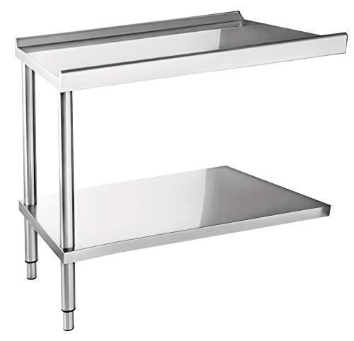 Casselin Table d'entrée ou de sortie pour lave-vaisselle 645 mm