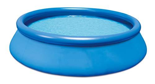 HAFIX Fast Set Pool Quick-Up. Swimmingpool aufblasbar für Garten Terasse Schwimmbad Aufstellpool rund. (366 x 91cm)