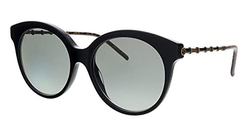 Gucci Occhiali da Sole GG0653S BLACK/GREY SHADED 55/18/145 donna