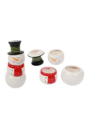 Stackable Measuring Cups Snowman Standard