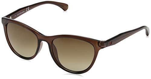 Calvin Klein CKJ811S-203-52 Calvin klein jeans CKJ811S-203-52 Schmetterling Sonnenbrille 52, Crystal
