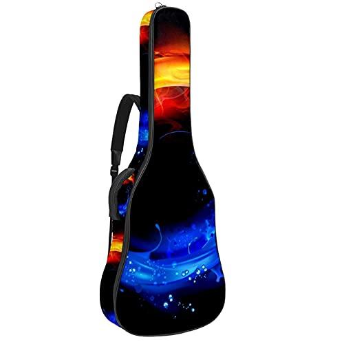 Bolsa de guitarra de 42 pulgadas para guitarra eléctrica, guitarra clásica ukelele...