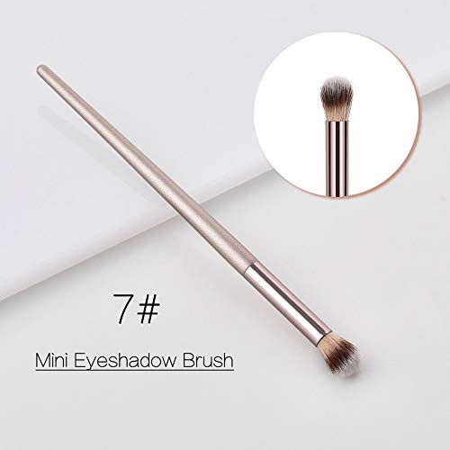 Professionele make-upkwastenset, multifunctioneel, champagne-make-upkwast, voor rouge, losse poeder, foundation, oogschaduw, concealer 7#