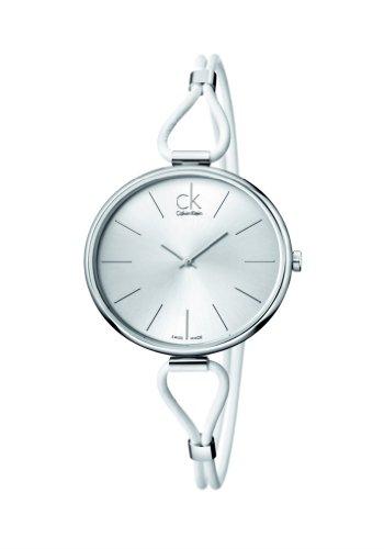 Calvin Klein Reloj Analógico para Mujer de Cuarzo con Correa en Acero Inoxidable K3V231L6