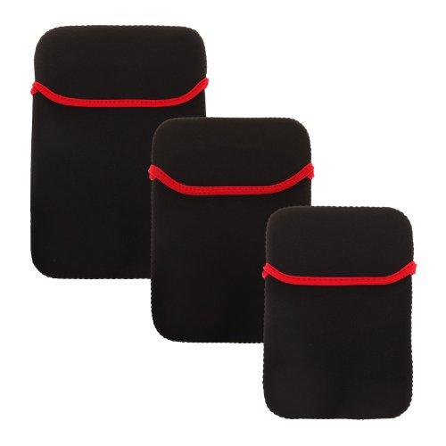 BRALEXX Neopren-Tasche für Tablet PCs 10 Zoll Schwarz