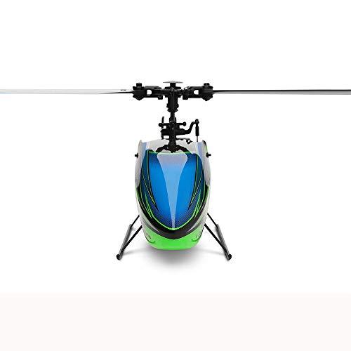 ACHICOO RC Hubschrauber, 2.4G 4CH 6-Aixs Gyro Flybarless RC Hubschrauber BNF ohne Romote Control Kinder, Freunde