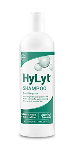 HyLyt Shampoo, soap-free cleansing and moisturinzing shampoo, hypoallergenic for Dogs, Cats and...