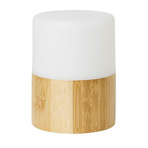 Duni 183180 LED-Halterung aus Bambus, 105 x 75 cm, hell