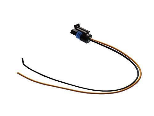 Michigan Motorsports Coolant Temperature Sensor CTS Extension Pigtail Fits Most 2 Wire TPI TBI LT1 LS1 LS2 Water Temp LSX Plug