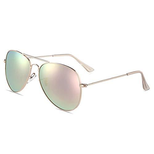 SUIBIAN Gafas de Sol polarizadas clásicas Retro Metal Mujeres Hombres Gafas de Sol de conducción Gafas UV400 Sombras