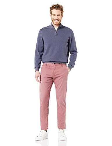Dockers Smart Supreme Flex Alpha Original Tapered Pantalones Informales, Joshua Burdeos, 31W/30L para Hombre