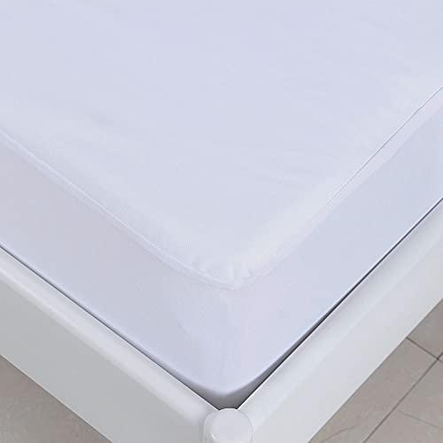 Amazon Brand – Umi Matratzenschutz Unsichtbar Wasserdicht Matratzenschoner Standard 100 by Oeko-TEX — 90x200cm