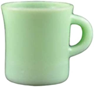 fire king green cup