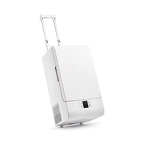 GHKLGTY Refrigerador de automóviles 20l Trolley Mobile es Adecuado para Mini RV al Aire Libre