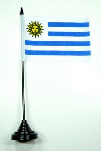Tischflagge Uruguay Flagge Fahne 10 x 15 cm FLAGGENMAE® Tischfahne