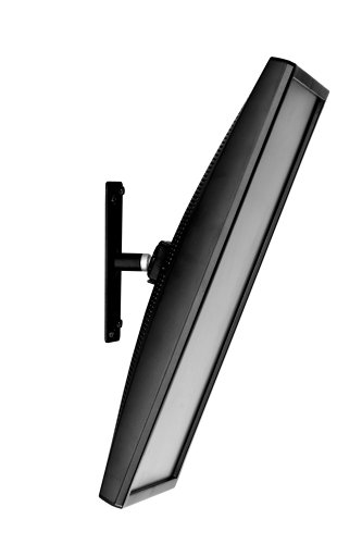 Atdec TH-2040-VTR Flat Screen Tilt and Rotate TV Wall Mount with Quick Release Mechanism for Displays up to 55.1-Pound, Black