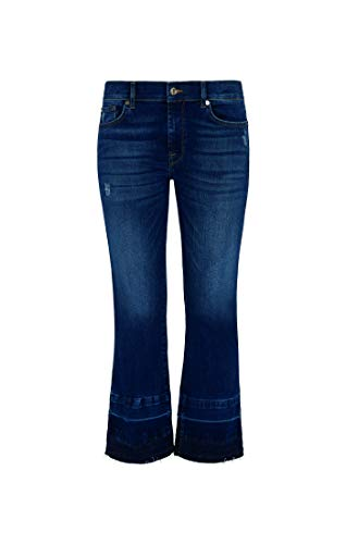 7 For All Mankind Bootcut Jeans, Azul Oscuro, 32 para Mujer