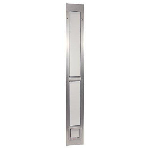 Ideal Pet Products ALUMINUM Modular Pet Patio Door, Assembled Adjustable Height 77-5/8