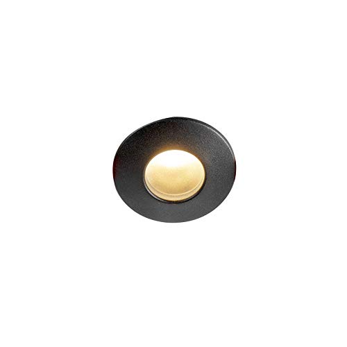 Qazqa Spot extérieur   Spot de Jardin Design Industriel Rustique Moderne - Gap Lampe Noir - GU10 - Convient pour LED - 1 x 50 Watt