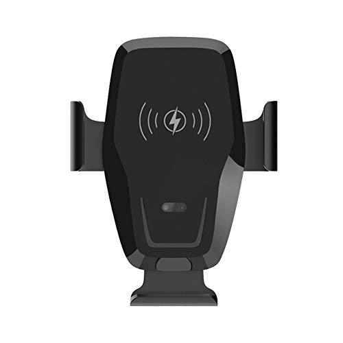 10W Soporte Inalámbrico para Teléfono Móvil con Cargador de Coche,Trpambvia Universal 4-6,5 Pulgadas Soporte 360°Giratorio para Ventilación Compatible con Iphone11/11Pro/ XR/XS/X/8 S20