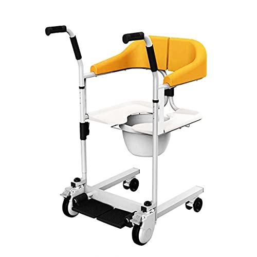 Takmeway Suministros de Productos para Ancianos Sillas para discapacitados Sitz Baño Desactiva Asistente Ayuda Ayuda Ayuda Paciente TRIVE DE Transporte Transferencia de Transporte,Naranja
