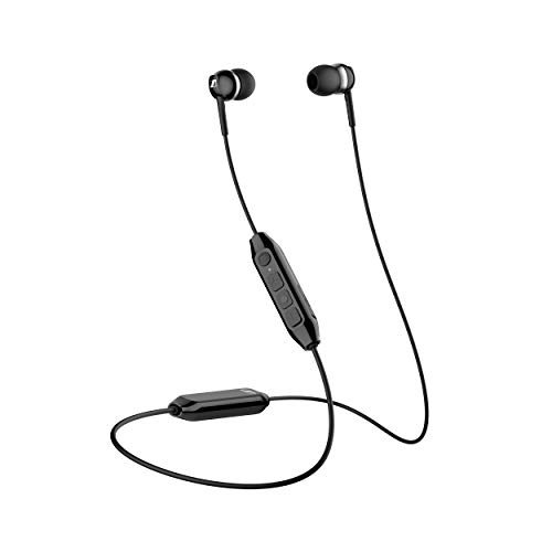 Sennheiser CX 350BT Bluetooth 5.0 Wireless Headphone - 10-Hour Battery Life, USB-C Fast Charging, Virtual Assistant Button, Two Device Connectivity - Black