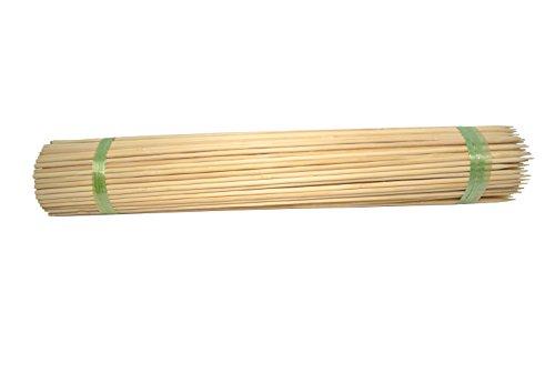 Bellaflor Bacchette in salice naturale, 80 cm, extra forti, Ø 6,5 mm, 100 pezzi