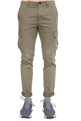 Tommy Hilfiger - Herren Cargo Hose aus Twill Stretch Grün, Grün 32W x 32L