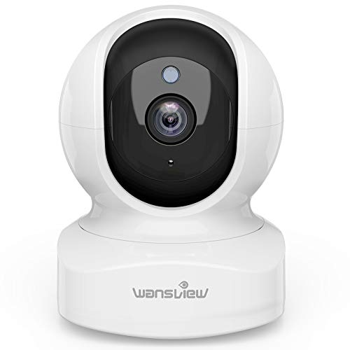 Wansview ネットワークカメラ 1080P 200万画素 ベイビーモニター WiFi IPカメラ ワイヤレス屋内防犯カメラ ペットカメラ ベビー老人ペット見守り 動体検知 双方向音声 暗視撮影 録画可能