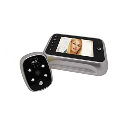 Yiwa 3,5 inch Smart Electronic Cat Eye Video bel met infrarood nachtzichtfunctie