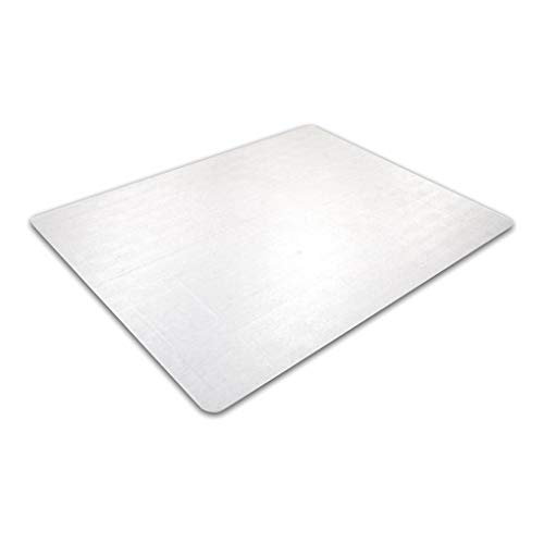 """Marvelux 35"""" x 47"""" Polycarbonate Chair Mat for Hard Floors and Very Low Pile Carpets with Anti Slip Backing for High Adherence 