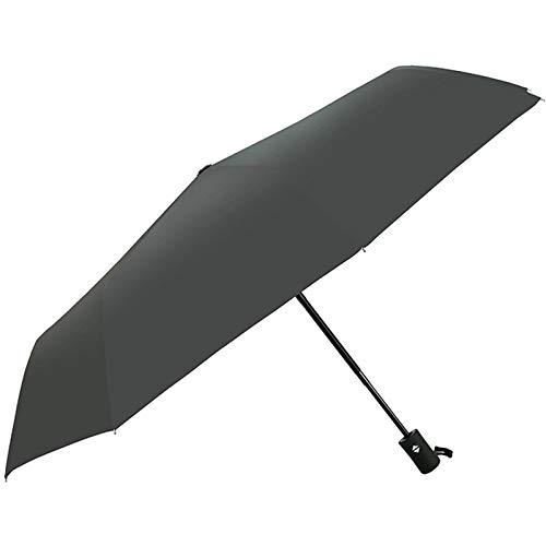WWDKF Paraguas Plegable Comercial De Vinilo Totalmente Automático De 8 Huesos, A Prueba De Lluvia Y Viento Al Aire Libre, Puede Bloquear Eficazmente Los Rayos Ultravioleta,A