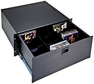 DVDP, Divider for D4, DC4 and TD4 Drawers for DVDs, Drawer Partition, 4 RU, DVDs