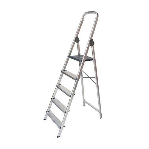 WURKO 8421446233036 - Escalera aluminio 3 peldaños hogar: Amazon.es: Bricolaje y herramientas