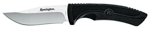 Remington 870311, Gürtelmesser Jagd-/Outdoormesser SPORTSMAN | Klingenlänge: 11,2 cm | Gummigriff, Mehrfarbig