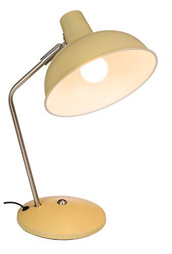 ootb 57/3042 - Lámpara de Escritorio (Metal, 35 cm), Color Crema