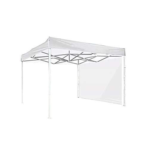 NMHSC Carpa emergente, carpa plegable portátil, refugio instantáneo, carpa de jardín de playa con carpa impermeable anti-UV para toldo instantáneo de 3 x 2 m, 1 pieza, color blanco