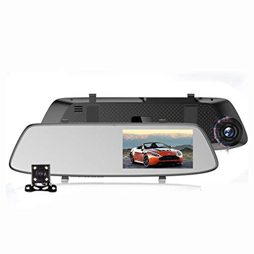 XJIANQI Dubbele Lens Dash Cam met Night Vision en SD-kaart Inbegrepen, 1080P FHD Mini Auto Camera, 170° Brede Hoek Rijden Recorder met G-Sensor, Loop Opname