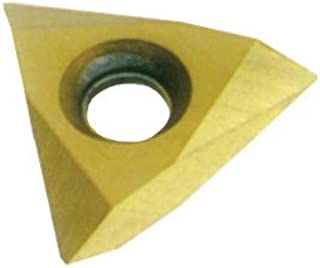 CM14 Grade 0.125 Groove Depth Pack of 10 Notched Style Cobra Carbide 46826 Solid Carbide Grooving Insert