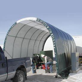 Solarguard Freestanding Building On Memphis Mall Wheels X 12'L 8'W 8'H Free Shipping New Ta