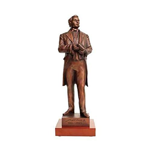 One Moment In Time S20W Statue Joseph Smith Bronze 14' with Wood Base Mormon CTR LDS