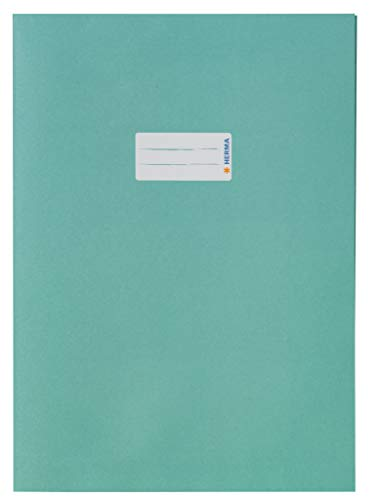 Herma Prot/ège-cahier Couvert Format A5 Turquoise.