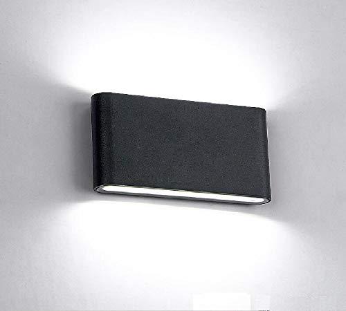 XIAJIA-12W - Aplique de pared para interiores y exteriores,