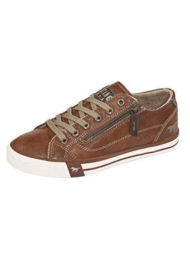MUSTANG Damen 1146-302 Sneaker, 307 Cognac