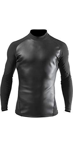 Zhik Camiseta de neopreno ZSkin para hombre, color negro, fácil de estirar, transpirable, corte ergonómico para rendimiento, movimiento y ajuste