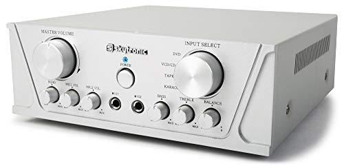 SkyTronic universele stereo Karaoke versterker 2x 200W